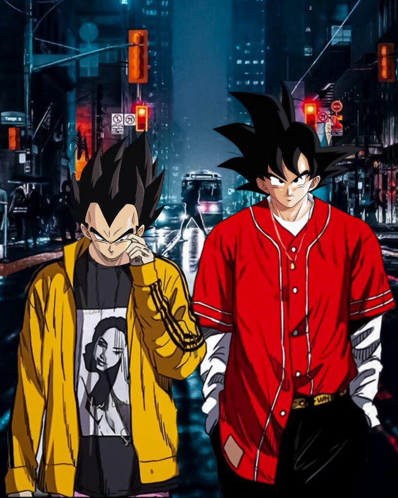Son Goku And Vegeta By Insanegoku Dragon Ball Super Manga Dragon Ball Wallpaper Iphone Anime Dragon Ball Super