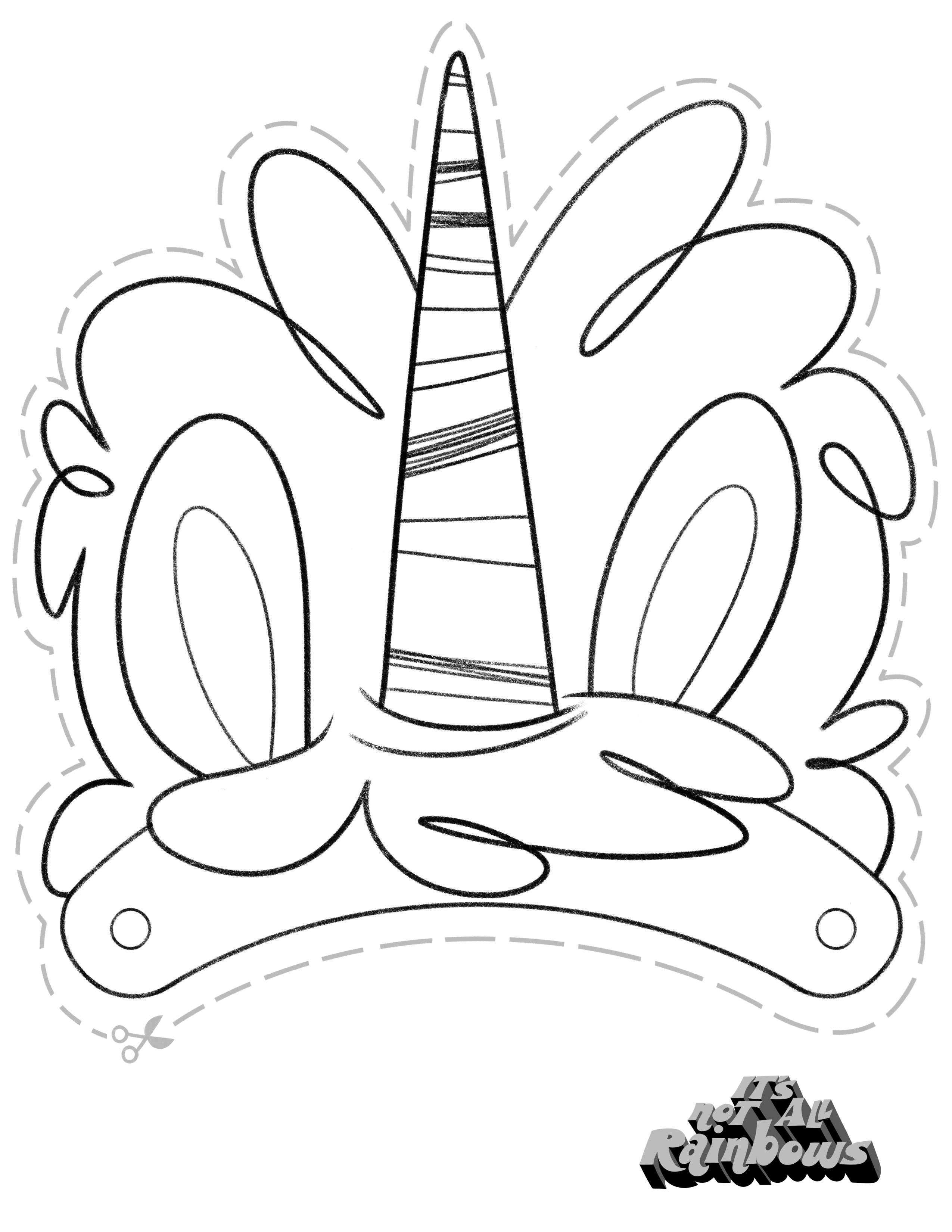Coloring Unicorn Cake Coloring Pages Allow Kids To Accompany Their Favorite Characters On An A Unicorn Coloring Pages Coloring Pages Birthday Coloring Pages