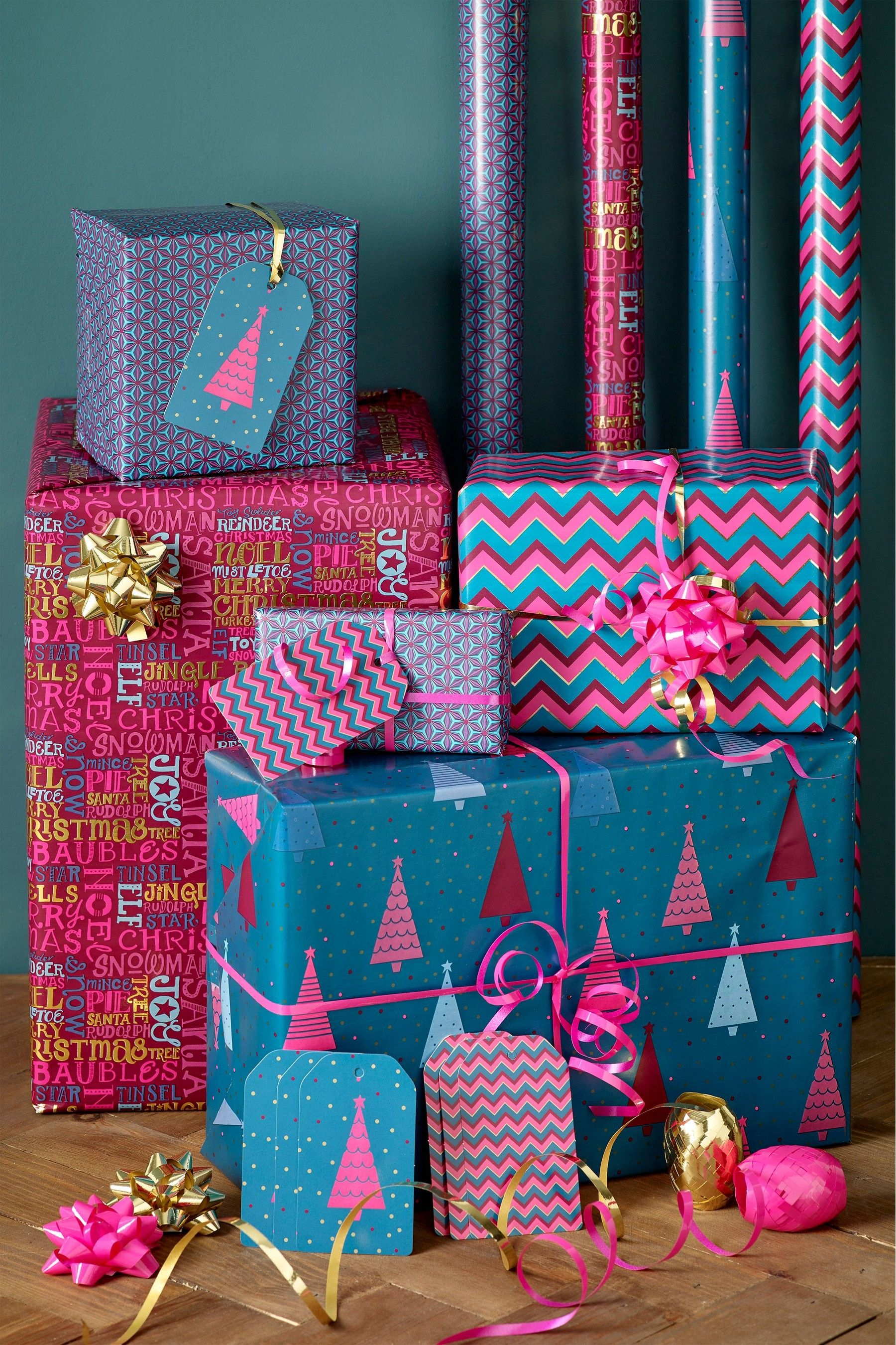 Next 8M Wrap Pack Green Christmas gift daughter