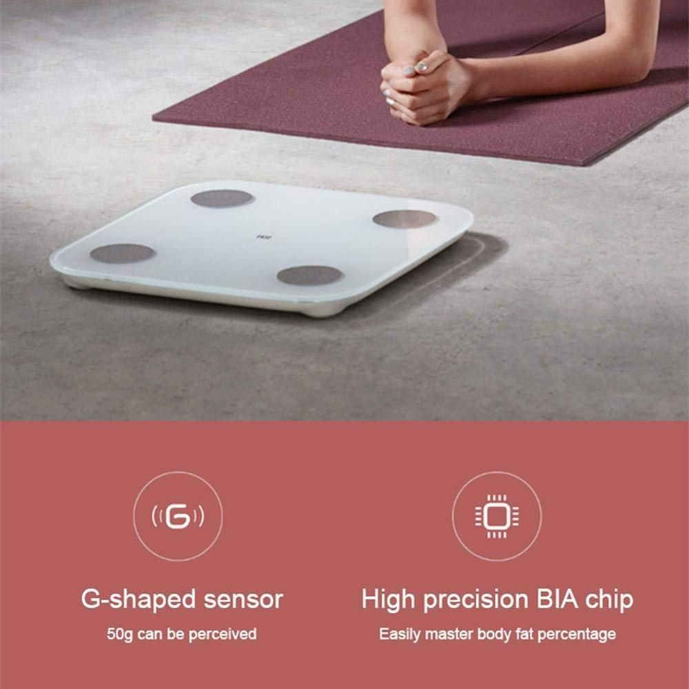 Xiaomi Mi Bascula Inteligente Bluetooth Con App De Xiaomi Mi Fit