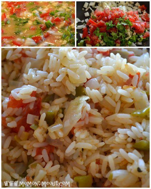Asian Chicken Nuggets & Sofrito Rice {Recipes} with Nakano Seasoned Rice Vinegar #seasonedricerecipes