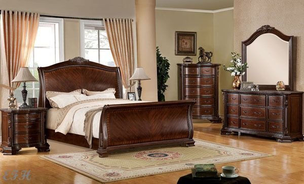 The Games Factory 2 Furniture Sleigh Bedroom Set