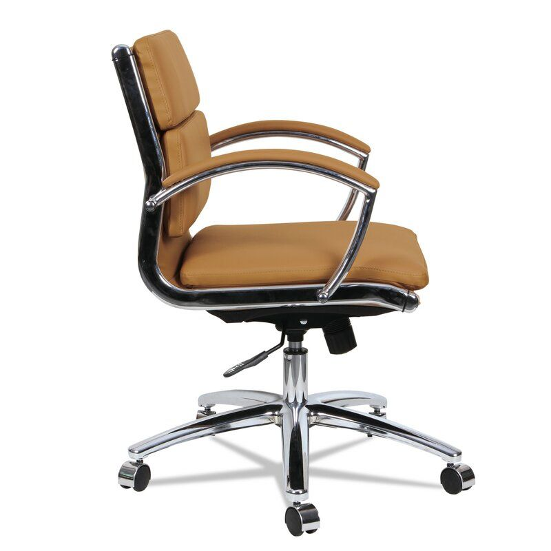 Thistletown Slim Profile Executive Chair In 2020 Executive Chair Chair Leather Office Chair