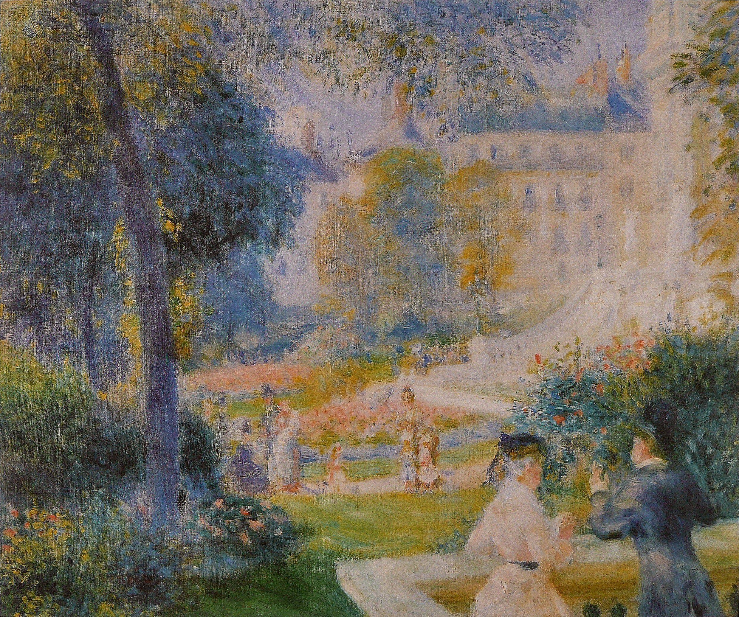 Le pont chatou   Renoir, Peintures renoir, Pierre auguste ...
