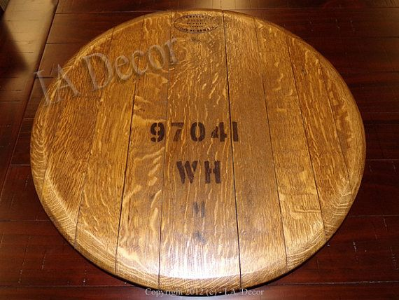 Wine Barrel Head Lazy Susan With Great Labeling Lazy Susans Lazy
