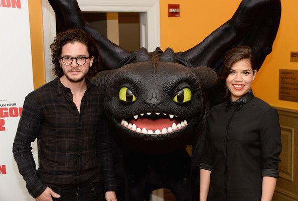 Kit Harington Photos Photos How To Train Your Dragon 2 Screening