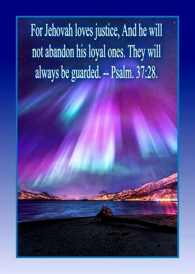 Jehovah never leaves his people! People may leave Jehovah