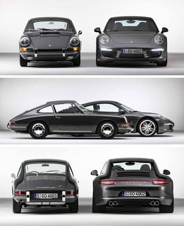 old and new, both nice brew   Vintage porsche, Porsche cars, Classic porsche