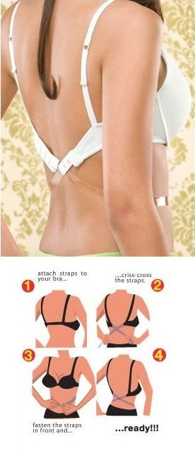 6f023f3ade856 How to Make Low Bra Strap in 5 Minutes - DIY