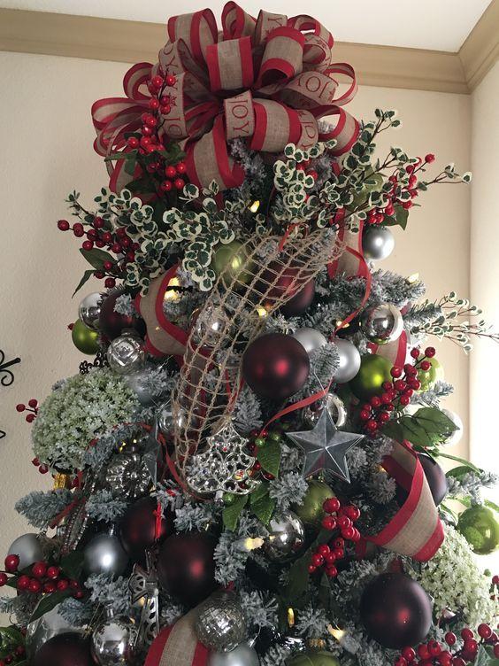 Los mejores arboles de navidad decorados 25 mchristmas - Decoracion arboles navidenos ...