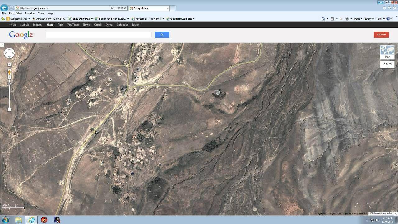 Noahs Ark On Google Maps Natural Landmarks Noah