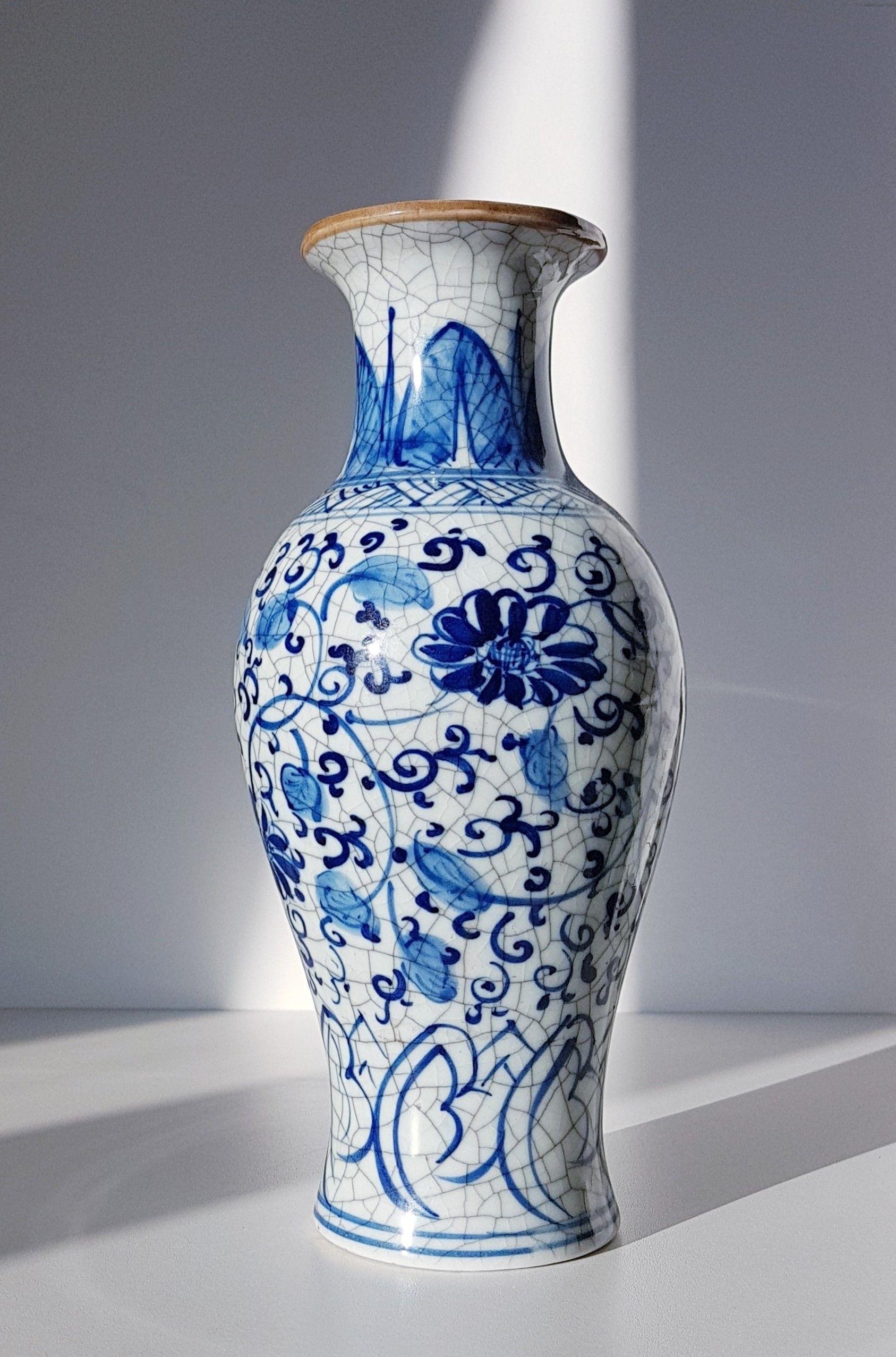 1960s Japanese Multiglass Ftg Clear Blue And Green Art Glass Baluster And Scroll Work Vase Glass Art Green Art Blue Floral Decor