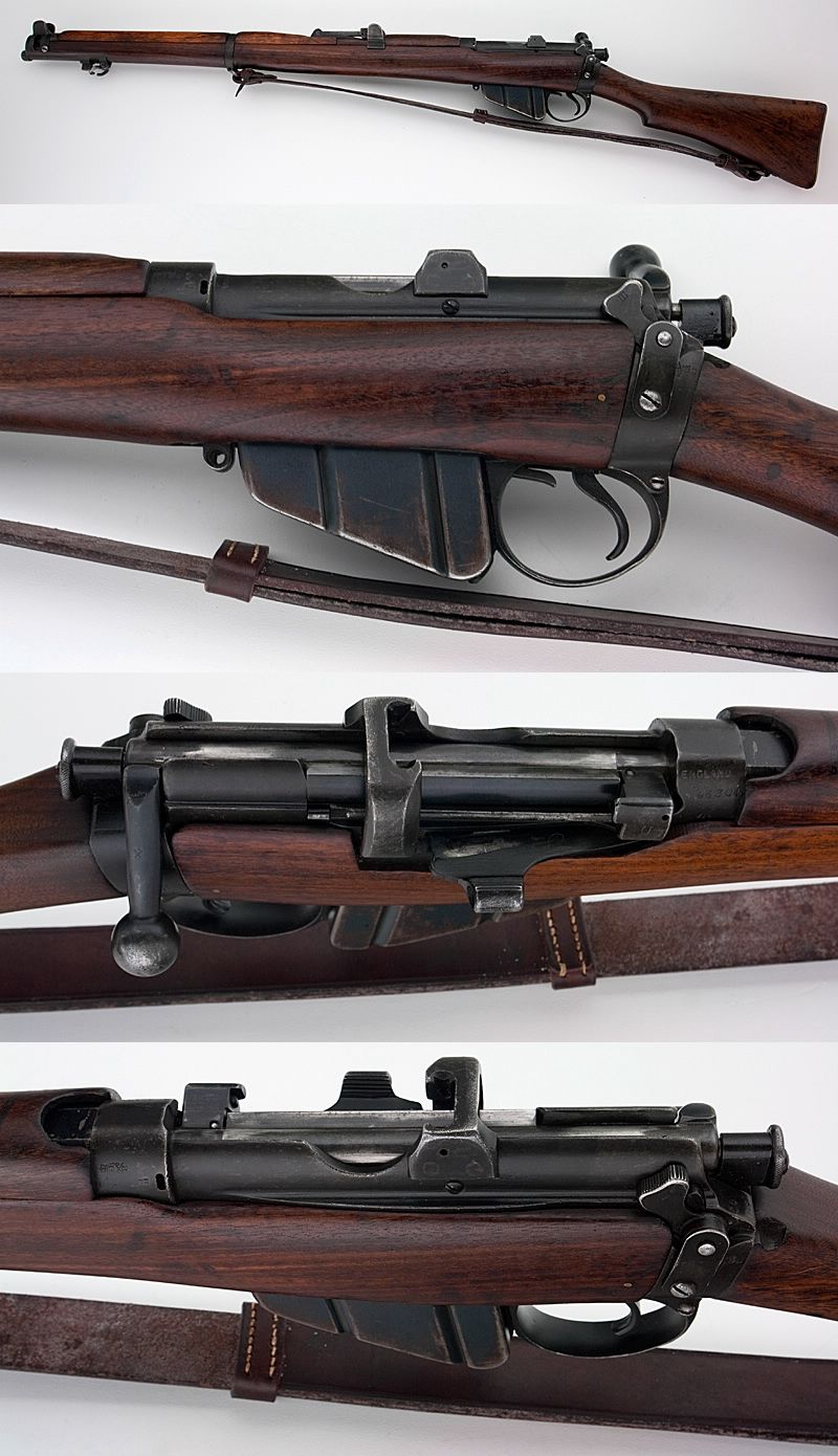 BRITISH LEE ENFIELD NO  1 SMLE MK III  303 SHORT MAGAZINE RIFLE W