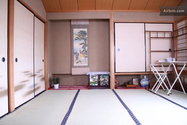 Big Tatami Room For Two In Kyoto Tatami Room Vacation Home Home