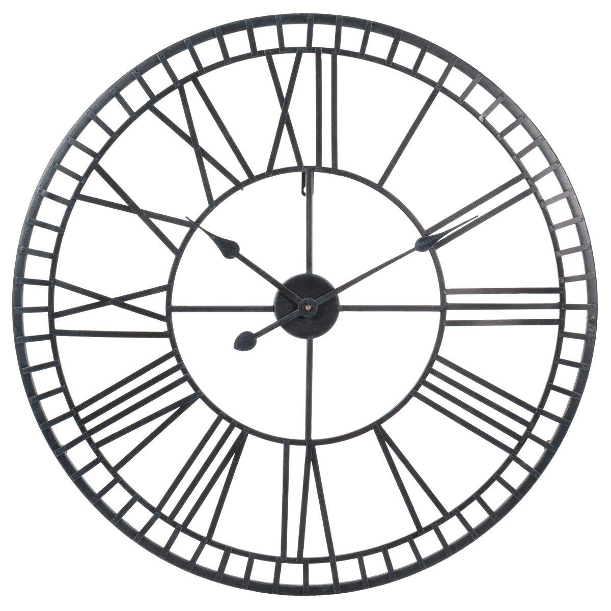 Horloge En Metal D 70 Cm Workshop