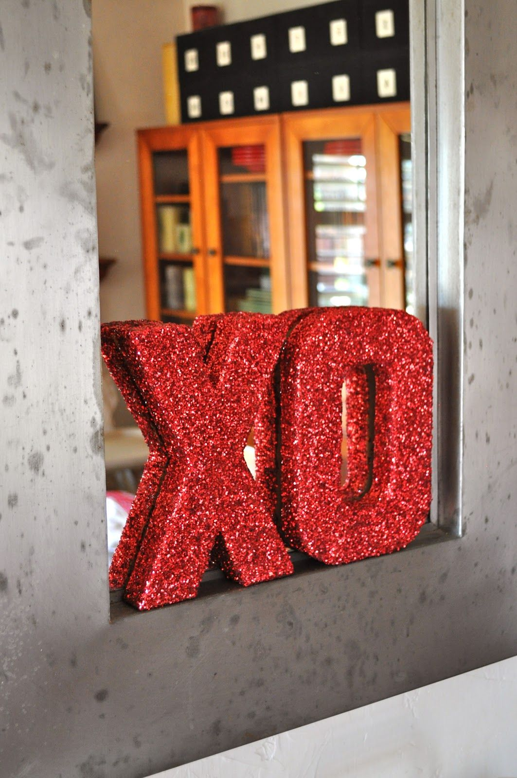 DIY Glitter Letters