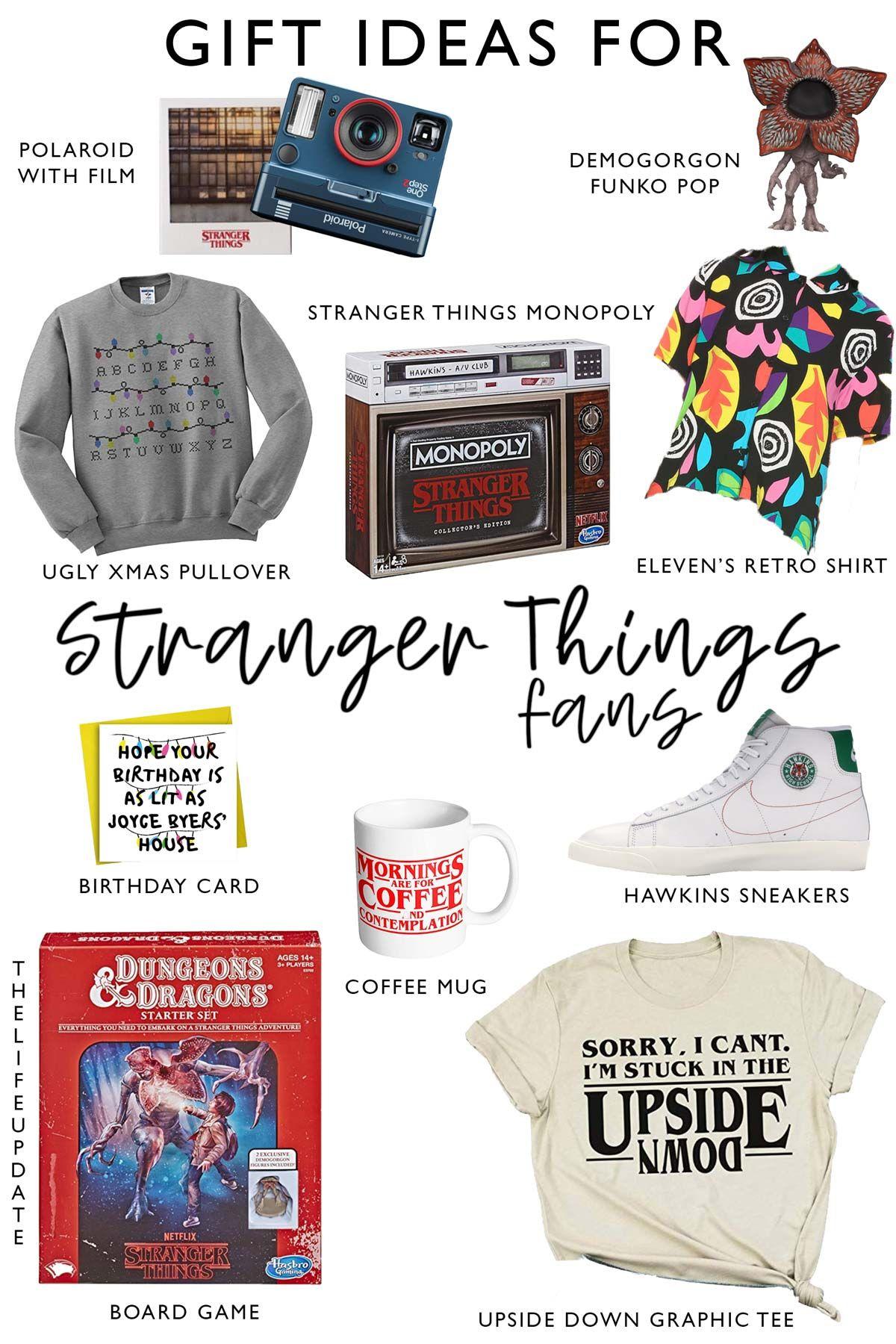Click for more gift ideas for stranger things fans