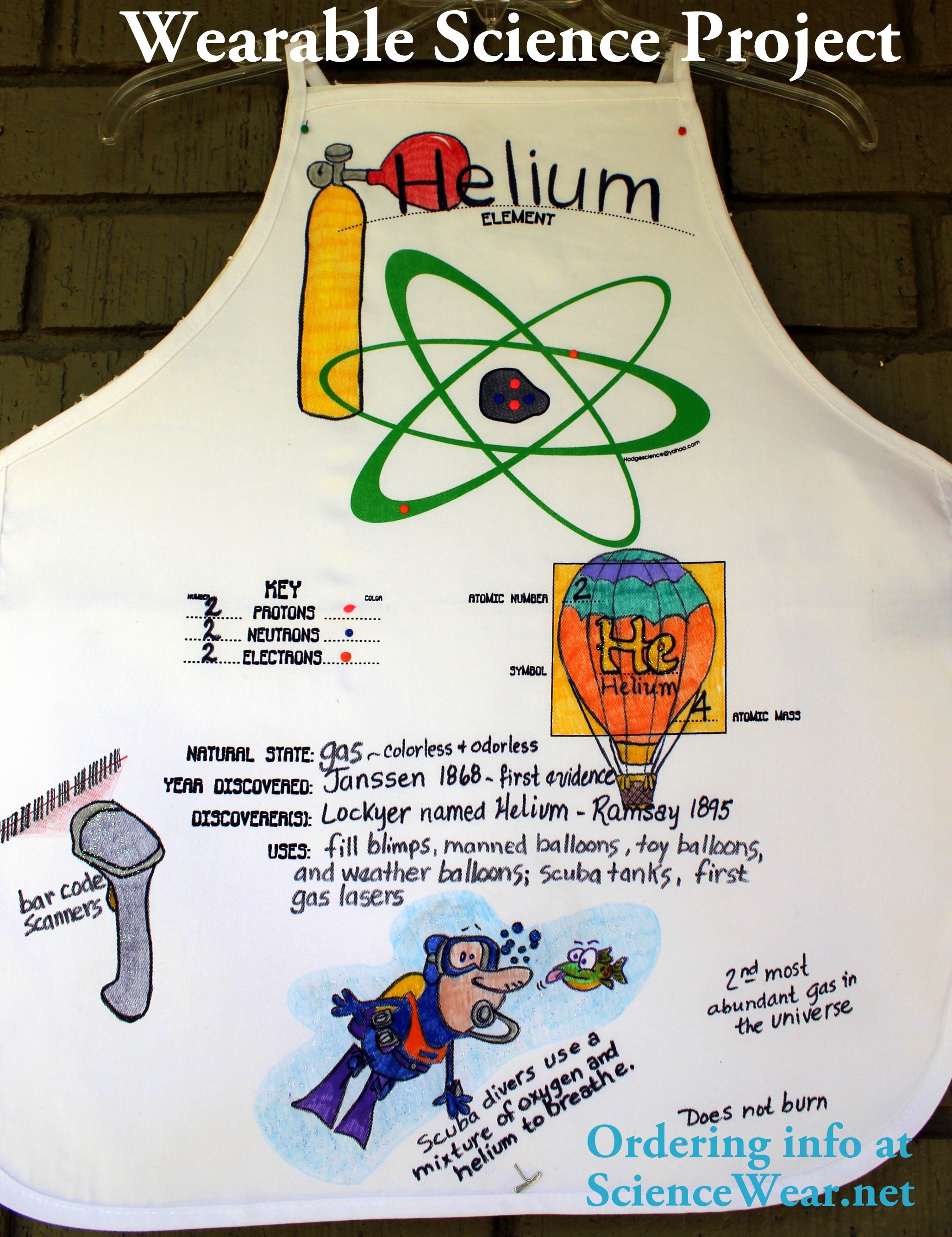 Best element research atom model project ever and it 39 s is for Adopt an element project ideas