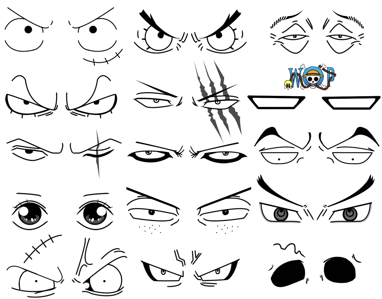 Eyes ONE PIECE Onepiece イラスト, キャラクターデザイン, イラスト