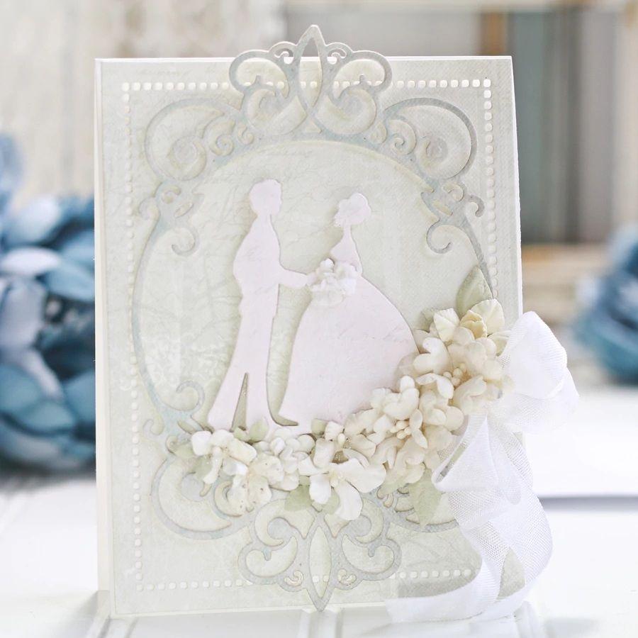 Mehr Schneidwerkzeuge Informationen Uber Hochzeit Gruss Karte Schmucken Metall Schneiden Stirbt Schablonen Fur Diy Scrapboo Diy Papier Hochzeitsgrusse Schablonen