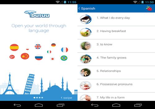 Ứng dụng học ngoại ngữ trên điện thoại và máy tính bảng bạn không thể bỏ quá