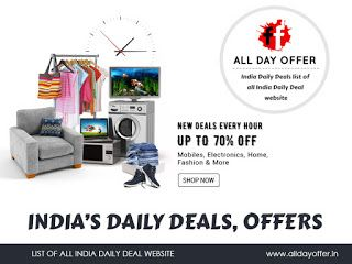 All Day Offer: Best Offers Online shopping India @ All Day Offer