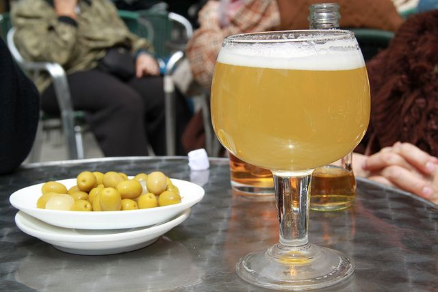 Clara Con Limon Beer Cocktail Recipes Spanish Drink Lemon Beer