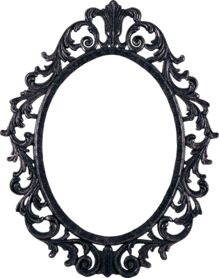 psd detail ornate pewter frame official psds