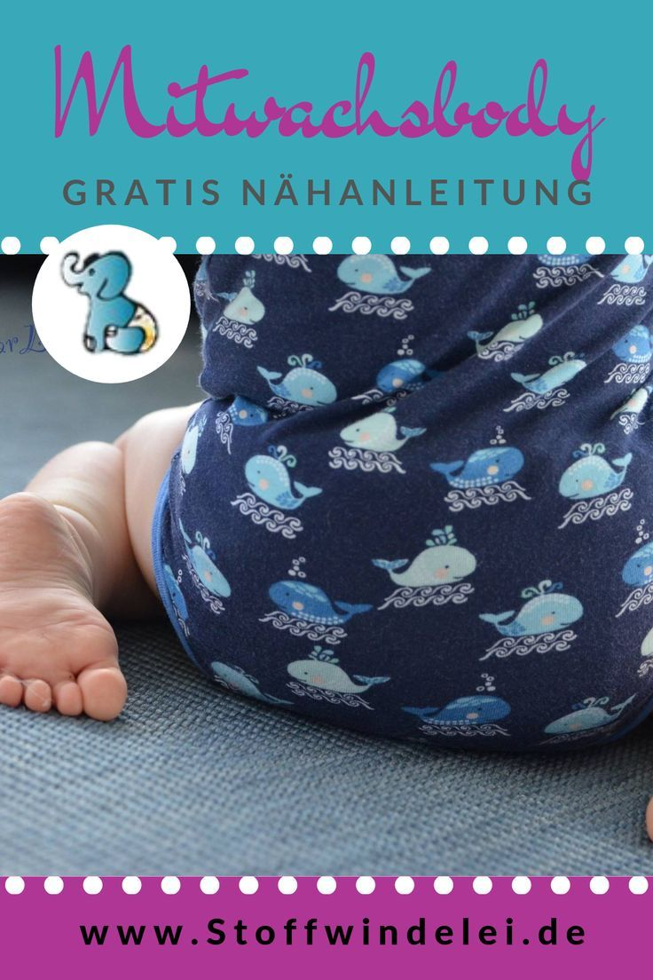 Photo of Sewing a growing body: free sewing pattern and sewing instructions Stoffwindelei.de