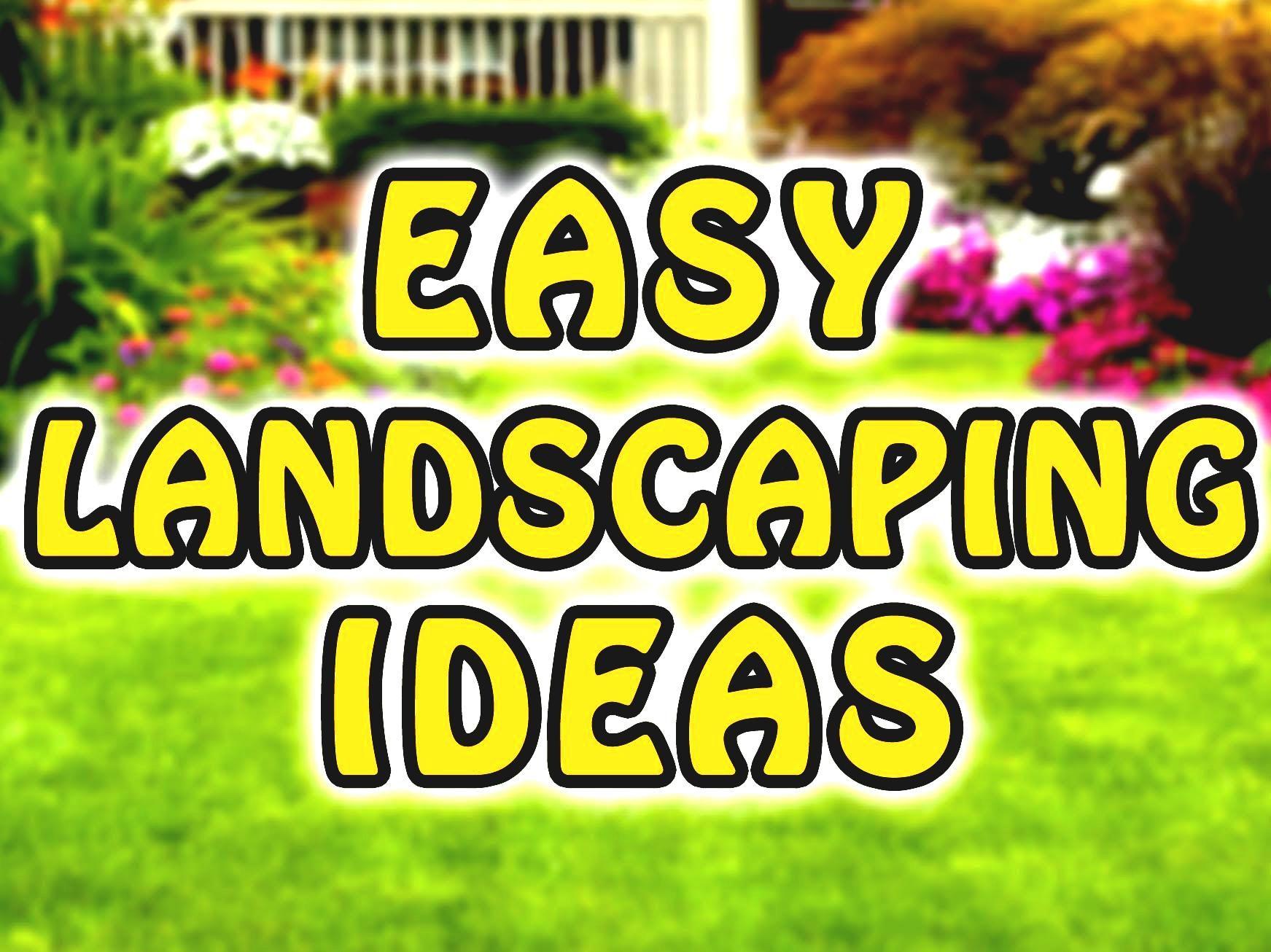Einfache Hinterhof Landschaftsbau Ideen Für Anfänger Sirup Denver Dekor  #Gartendeko
