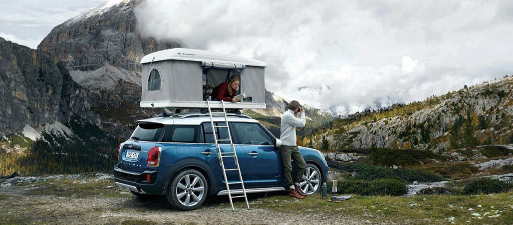 Mini Countryman Rooftop Tent Cars Mini Countryman Roof Top Tent