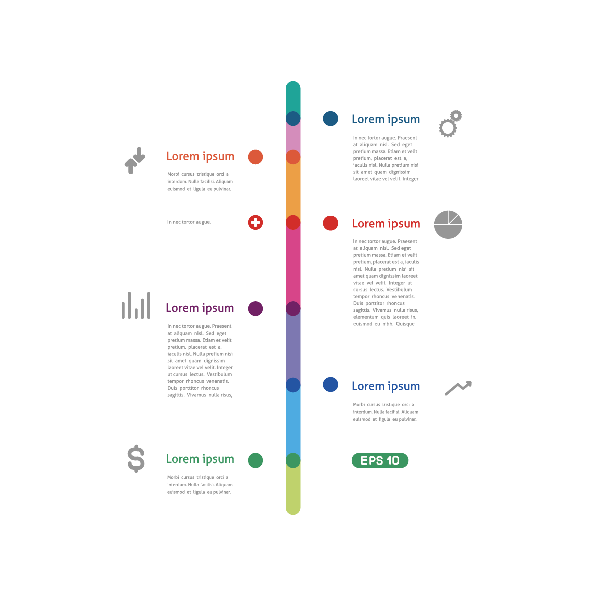 Timeline Infographic Template Graphic Design