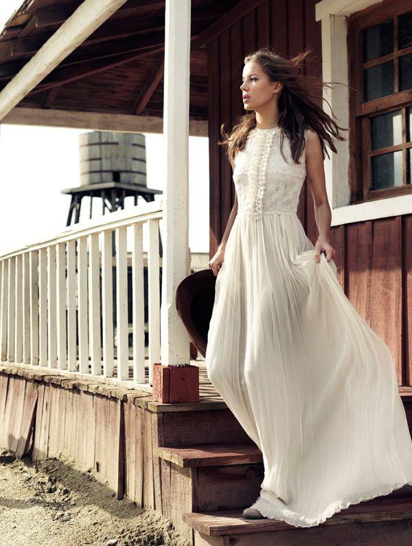 Marcas de vestidos de novia boho chic