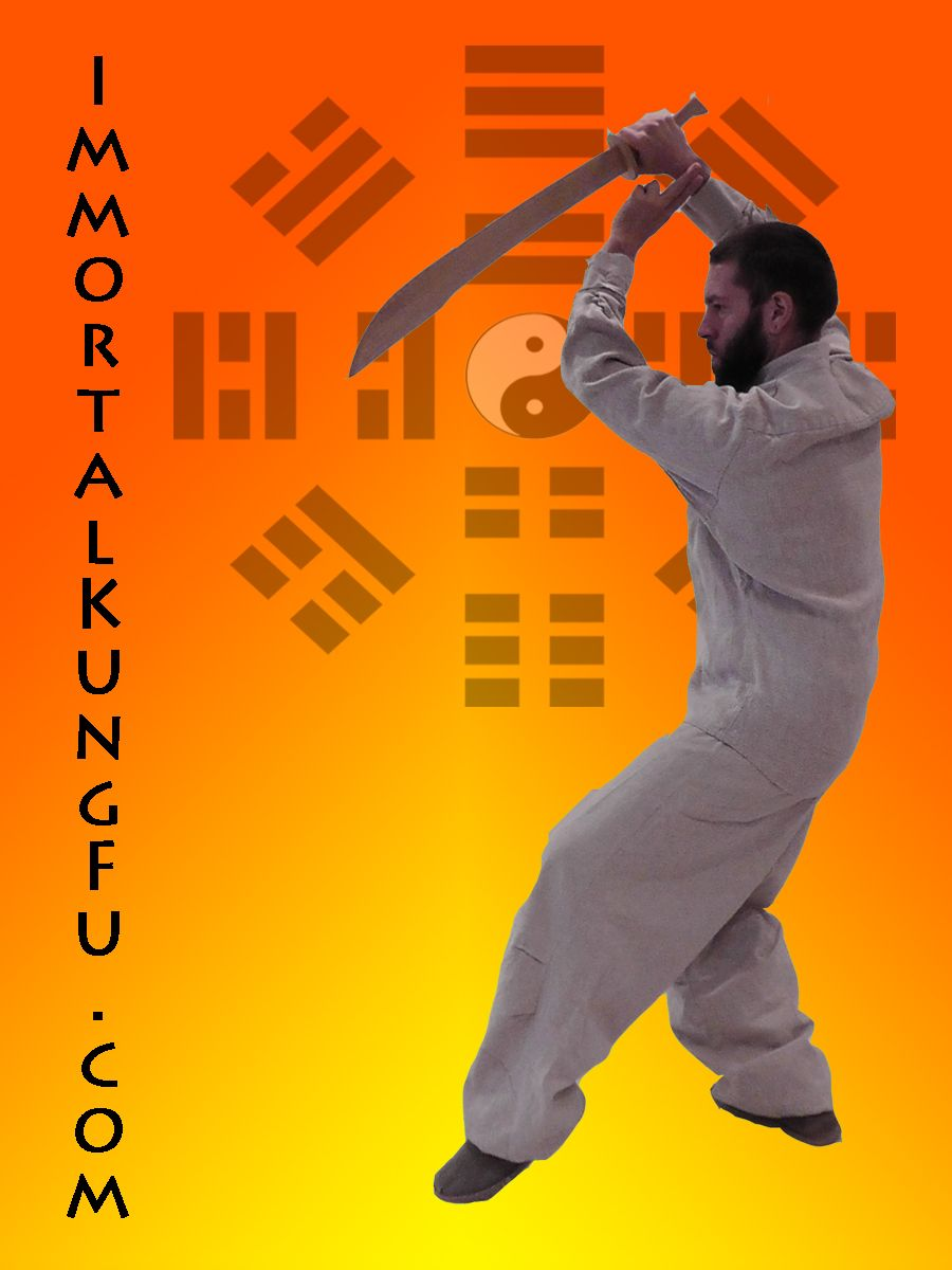 Tai Ji Dao - Push out and Reverse Inwards as the White Crane Spreads it's Wings.