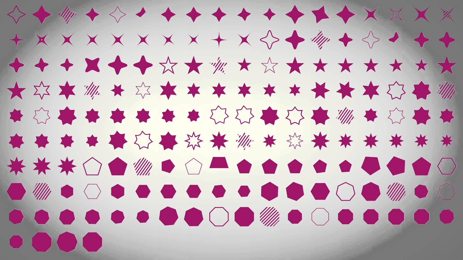 [GFXLibrary.net]  Basic shape animation pack 1000  - Free After Effects ...