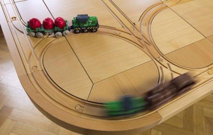 TrackTile Table | Train Ride