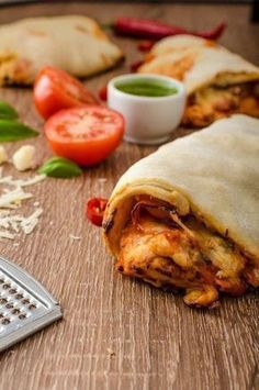 Photo of Low carb pizza roll: recipe with cheese and curd cheese desired.de
