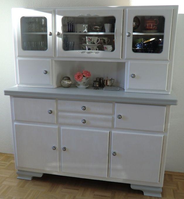 Buffetschrank, Küchenschrank, Vitrinenschrank Vitrinenschrank - küchenschrank mit glastüren