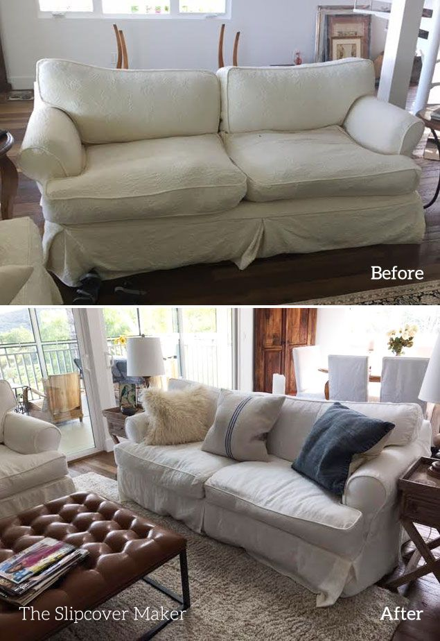 Favorite White Linen For Sofa Slipcovers Slipcover Copies