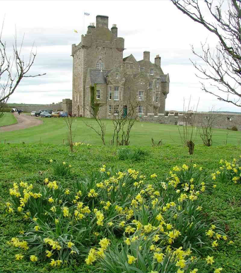 Ackergill Tower Or Ackergill Castle Is Located North Of Wick