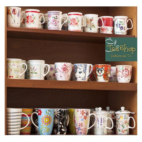 ¿Te encantan los mugs? ¡Ven a tea shop y llévatelos todos!