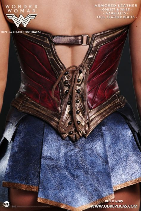 Wonder Woman - Official Leather Replica Image 4 Disfraz Mujer 2cd64822bcb3