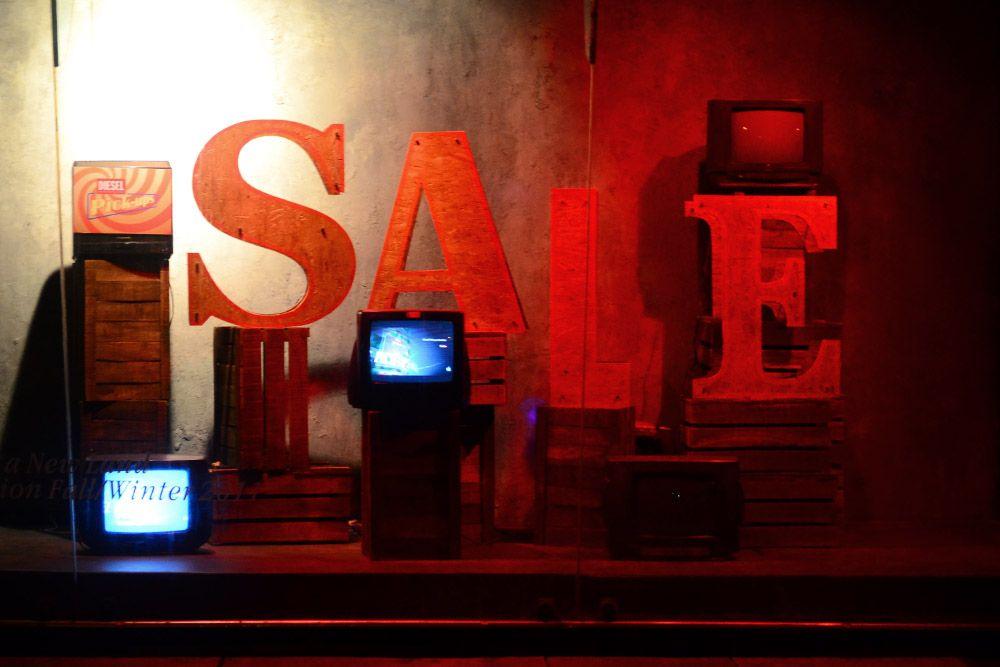 Diesel Sale window