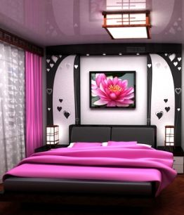 Pink And Black Bedroom Designs Interesting Bedroom Decorating & Interior Design Ideas For Inspiration Design Decoration