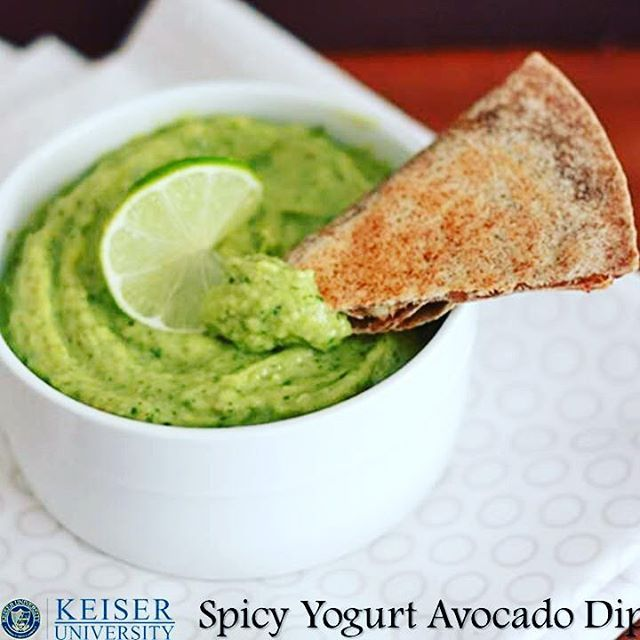 It is National Chip & Dip Day!  Melbourne's Chef Curtis recommends his dip for quesadilla's, a topping for grilled fish, or with your favorite chips. Spicy Yogurt Avocado Dip  1 onion 1 avocado 1 jalapeno 4 garlic clove juice of 1/2 lime 1 tsp salt 2 TBSP cilantro 1 cup plain yogurt  Dry sauté thin slice onion, one jalapeno whole and 4 cloves of garlic, 4-5 minutes. Remove stem of jalapeno and add all ingredients to a food processer. Add yogurt, lime juice, salt, cilantro and avocado to…