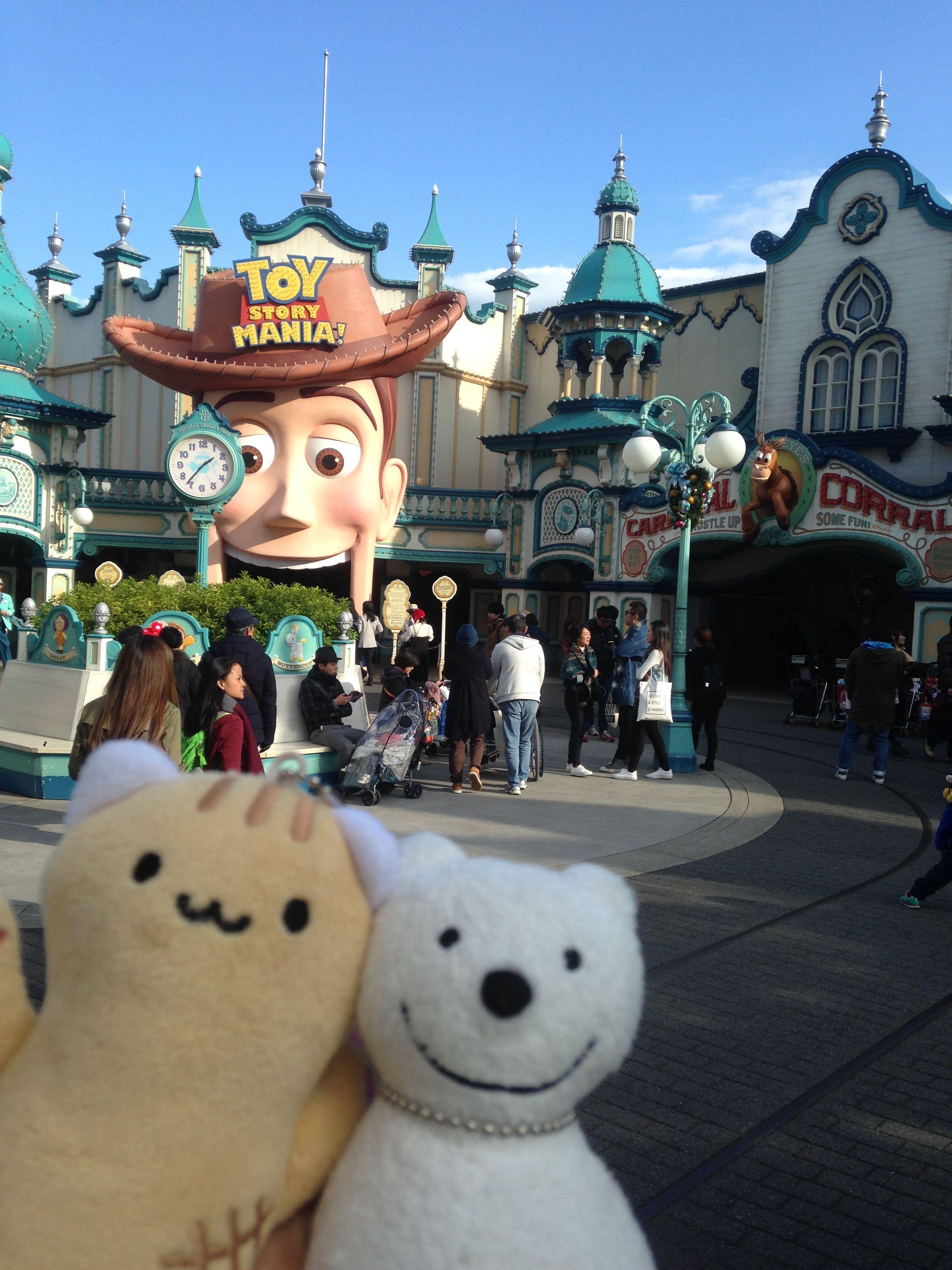 クマ散歩:東京ディズニーシーに品行方正なクマ出沒2 The Bear ...