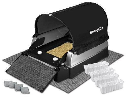 49 08 59 99 The Littermaid Ultimate Accessories Kit Includes Everything You Need For The Elite Mega U Self Cleaning Litter Box Cleaning Litter Box Litter Box