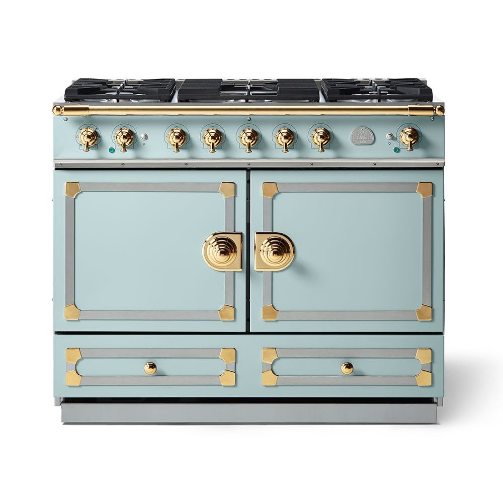 La Cornue Cornufe 110 Range Suzanne Kasler Collection Roquefort La Cornue La Cornue Stove Kitchen Trends