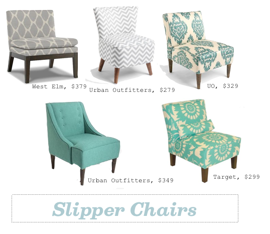 grey u0026 teal slipper chairs