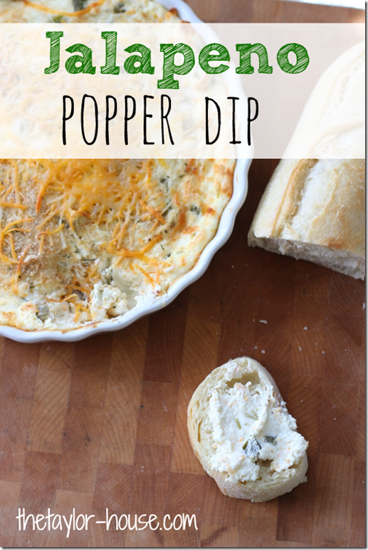 {RJS}. I added a 1/4 cup crushed pineapple. Delucious!!!  Appetizer Recipe: Jalapeno Popper Dip